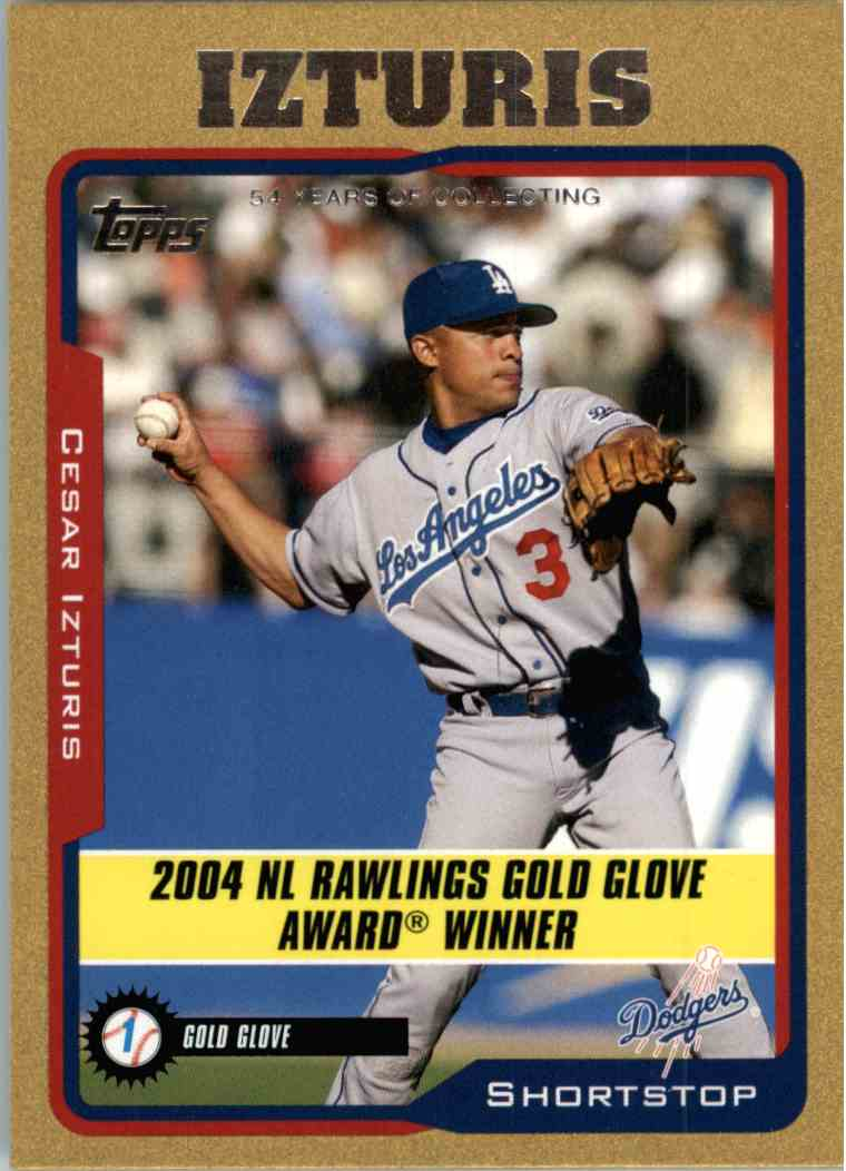 2005 Topps Cesar Izturis #709 card front image