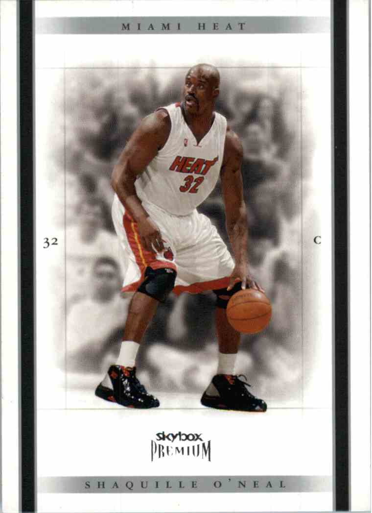 2005-06 Skybox Premium Shaquille O'Neal #52 card front image