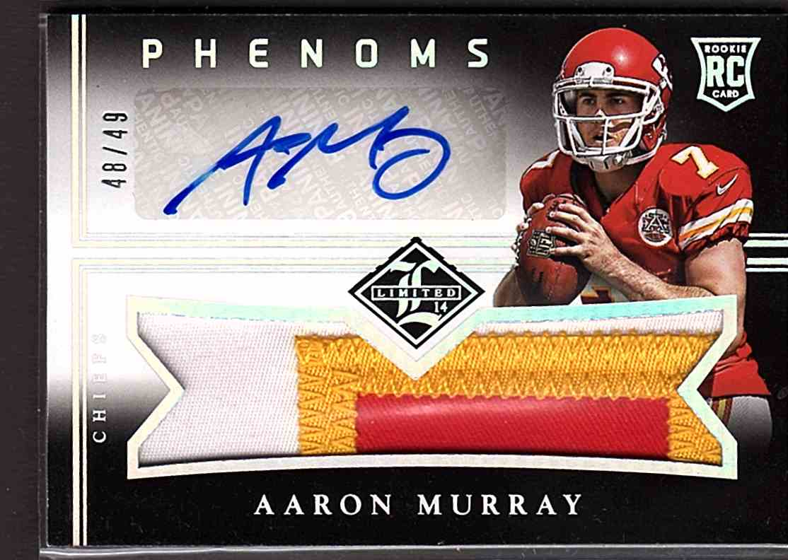 2014 Limited Silver Spotlight Aaron Murray #164 card front image