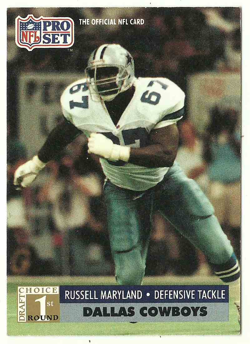 1991 Pro Set Russell Maryland #730 card front image