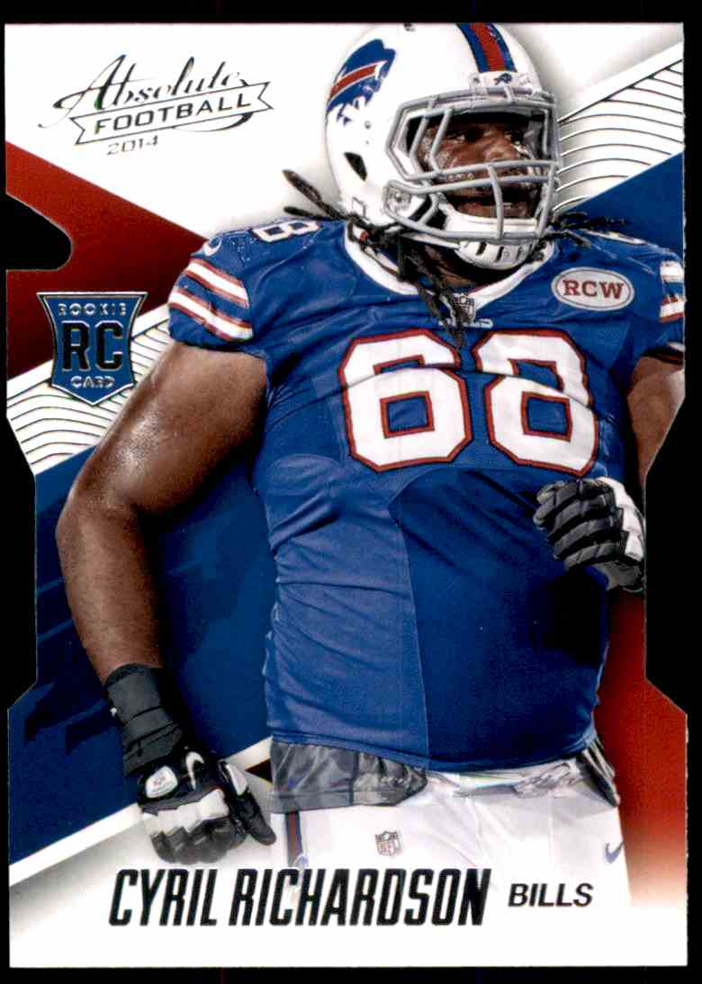 2014 Absolute Retail Cyril Richardson RC #105 card front image