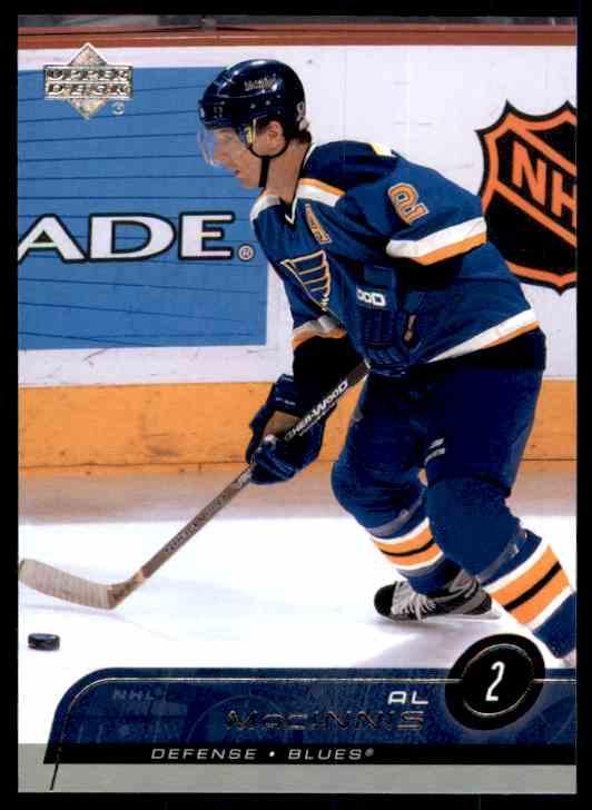 2002-03 Upper Deck Al MacInnis #152 card front image