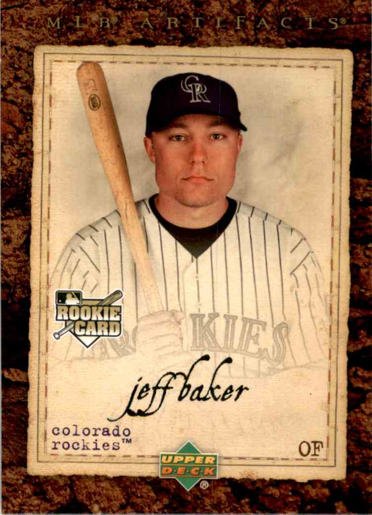 2007 Artifacts Jeff Baker (Rc) #82 card front image