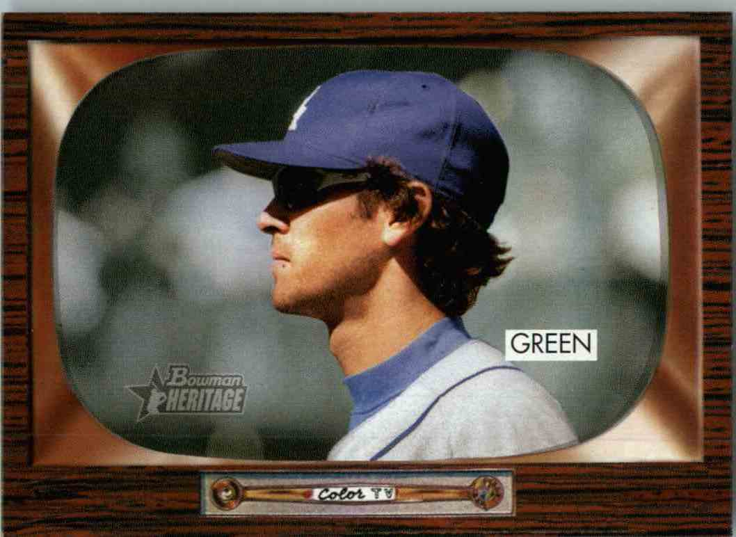 2004 Bowman Heritage Shawn Green #66 card front image