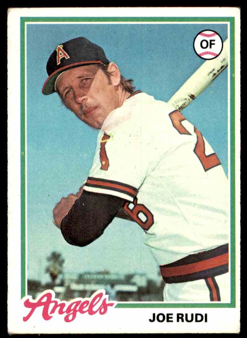 1978 Topps Joe Rudi #635 card front image