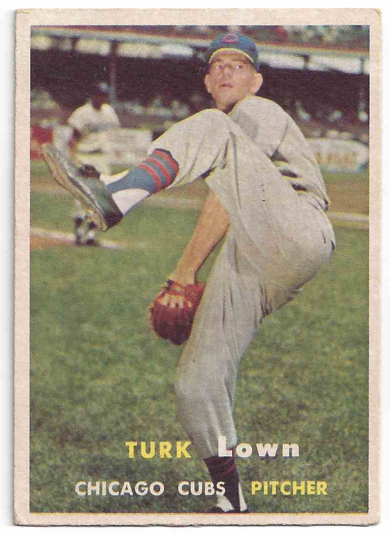 1957 Topps Turk Lown #247 card front image