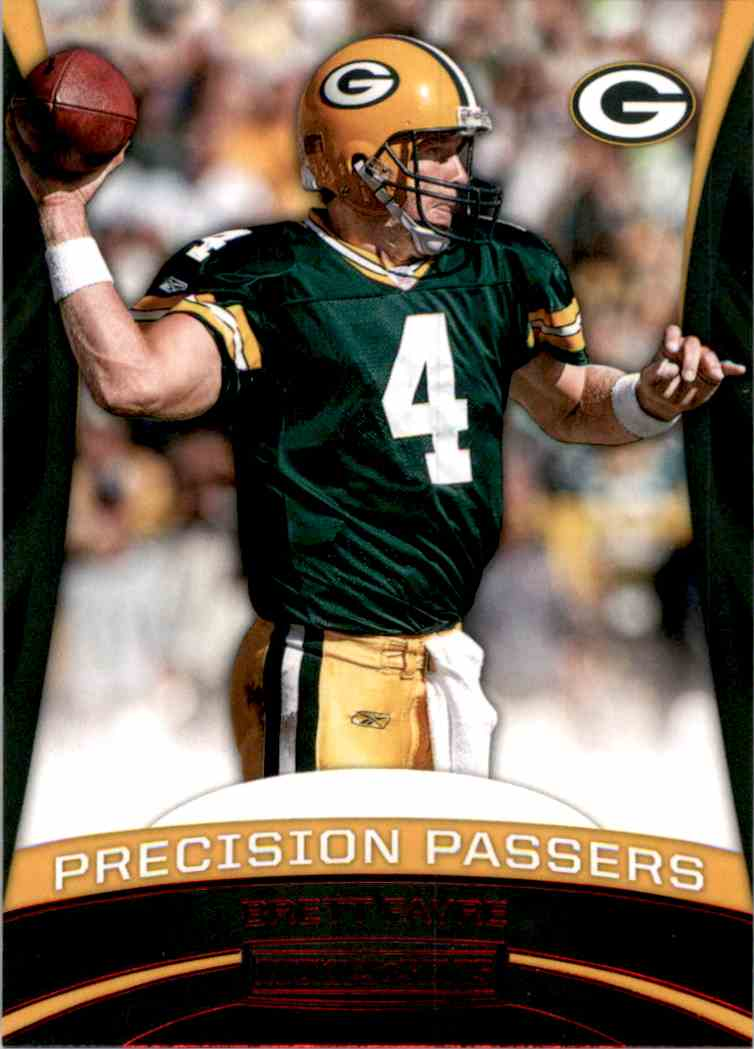 2017 Rookies And Stars Precision Passers Brett Favre #6 card front image