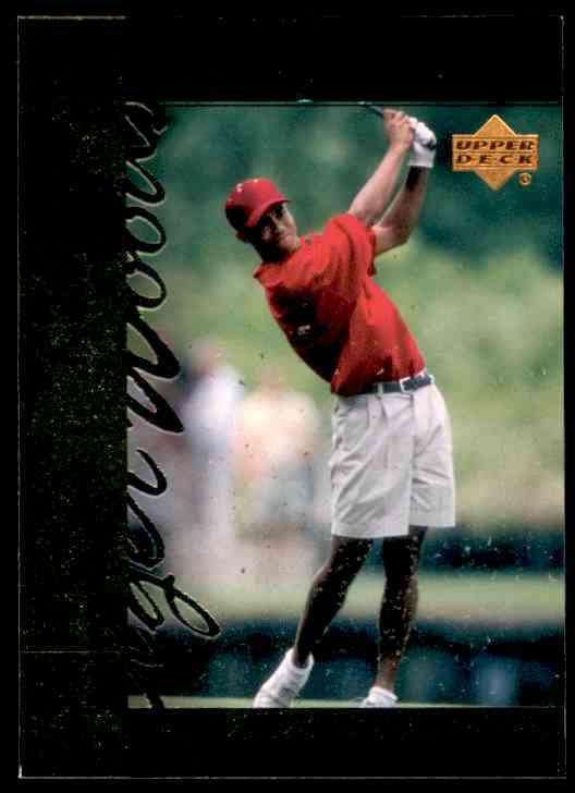 2001 Upper Deck Tiger Woods #TT7 card front image