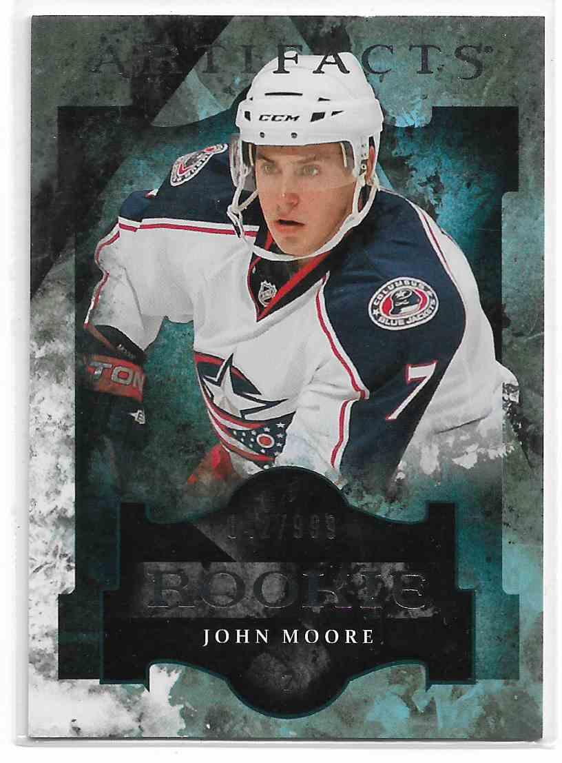 2011-12 Upper Deck Artifacts John Moore #159 card front image