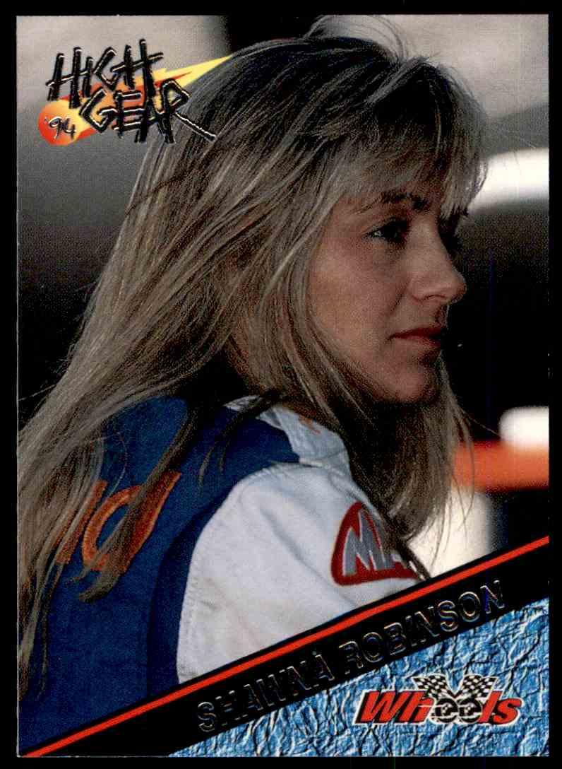 1994 Wheels High Gear Shawna Robinson #169 card front image