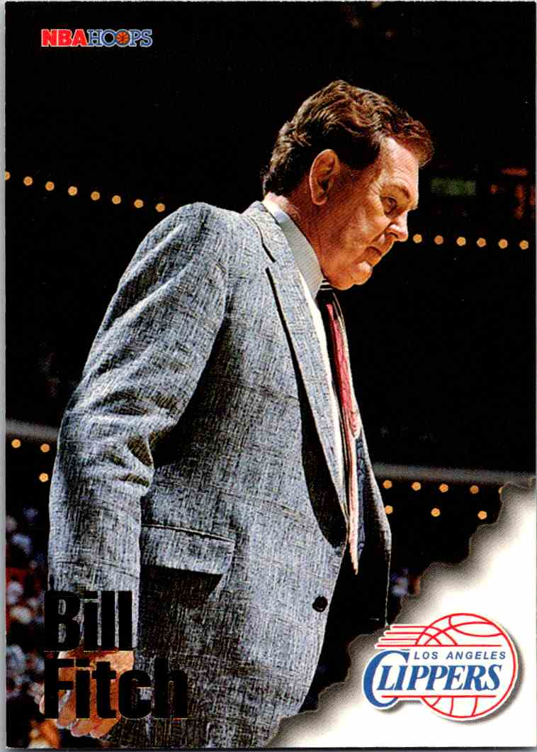 1997-98 NBA Hoops Bill Fitch #260 card front image