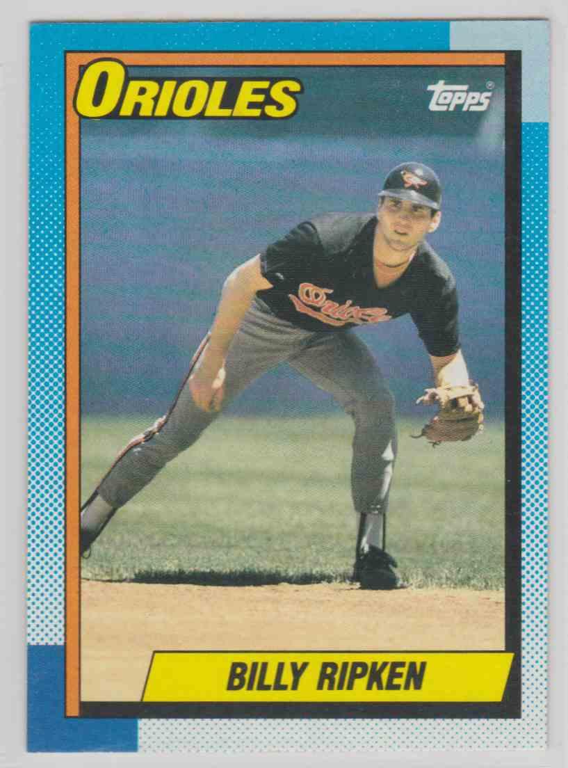 1990 Topps Base Billy Ripken #468 card front image