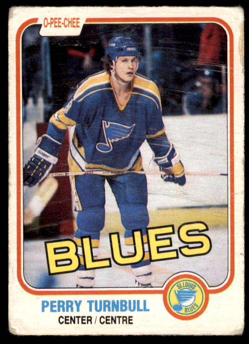 1981-82 OPC Perry Turnbull #298 card front image