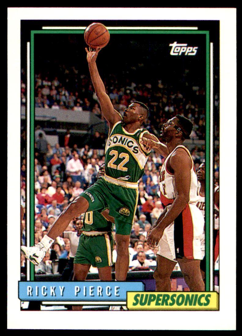 1992 93 Topps Ricky Pierce 85 on Kronozio