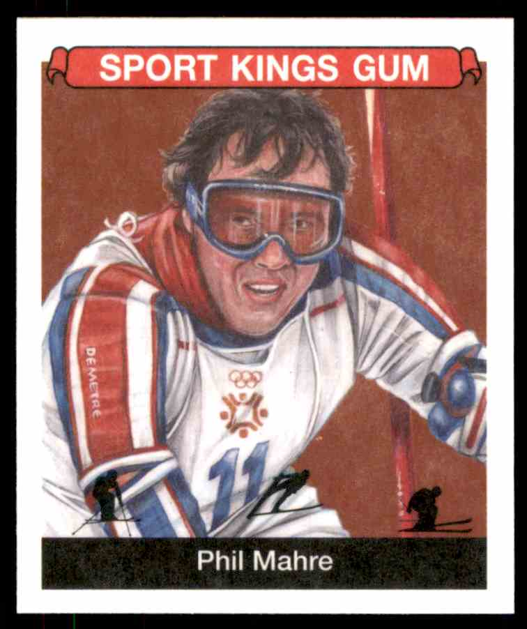 2018 Sportkings Black Back Retail Mini Phil Mahre #35 card front image