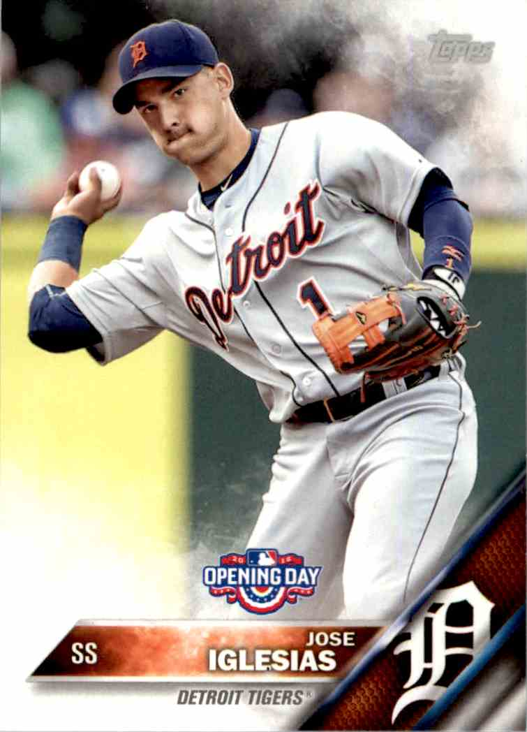 2016 Topps Opening Day Jose Iglesias #OD-101 card front image