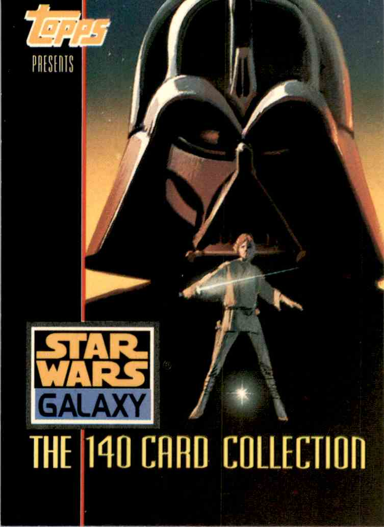 1993 Star Wars Galaxy Title Card #1 card front image