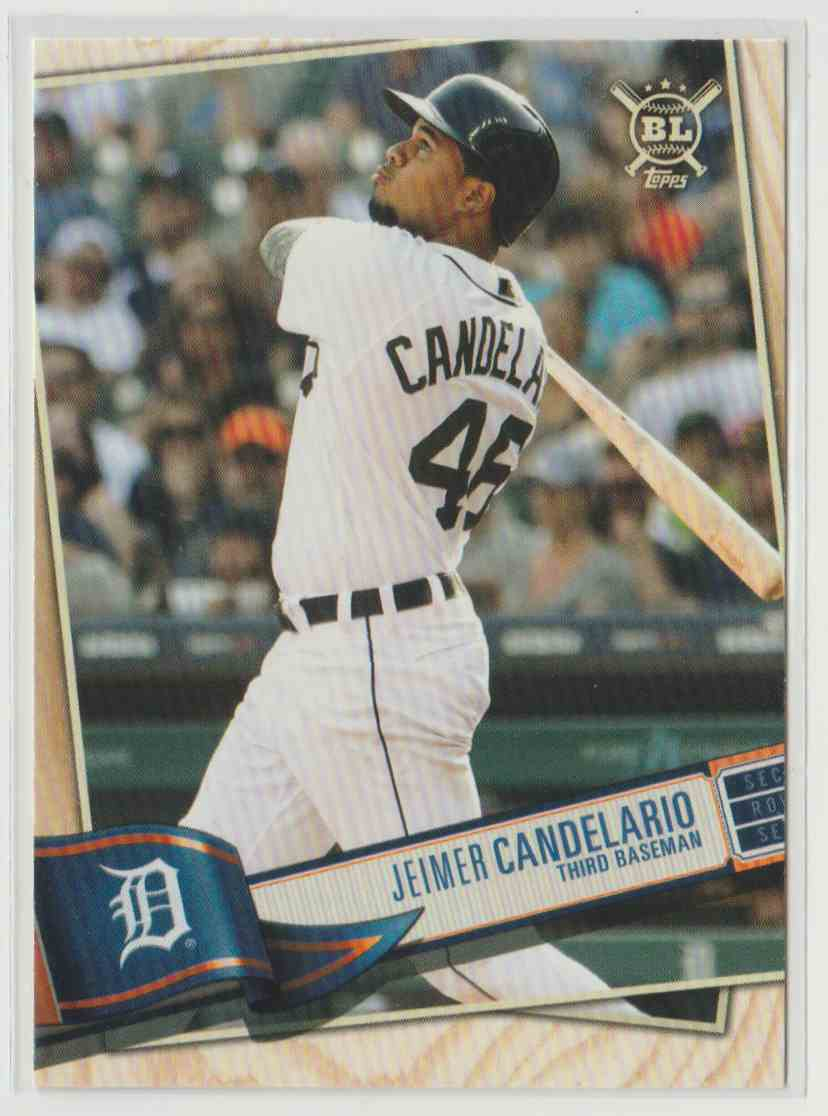 2019 Topps Big League Jeimer Candelario #276 card front image