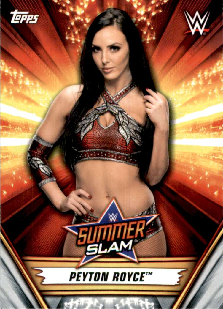 2019 Topps Wwe SummerSlam Peyton Royce #49 card front image