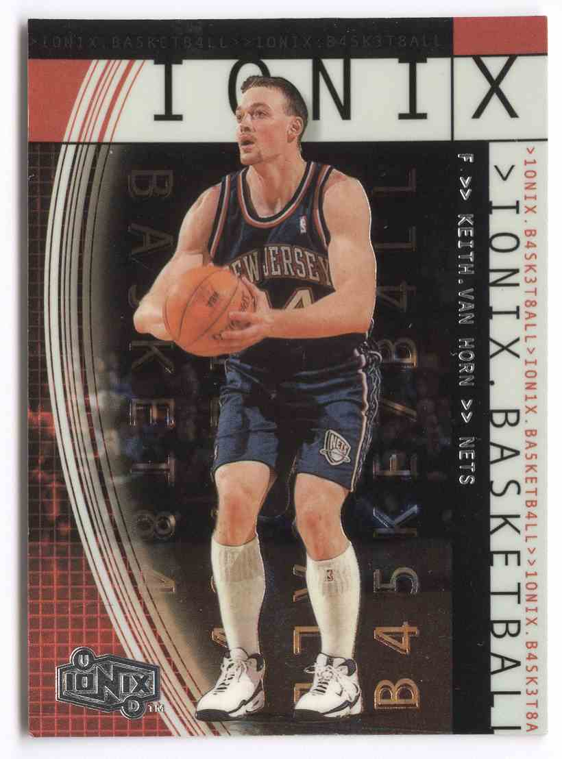 17 Keith Van Horn trading cards for sale