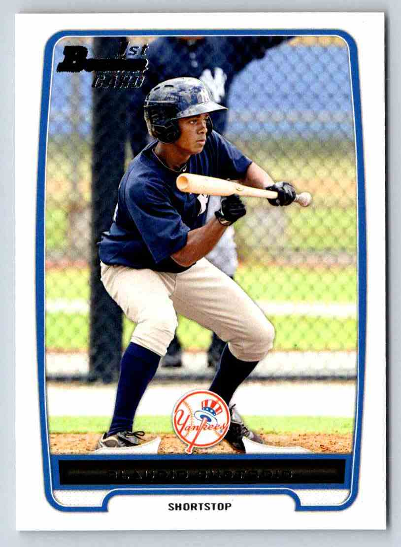 2012 Bowman Prospects Caludio Custodio #BP22 card front image