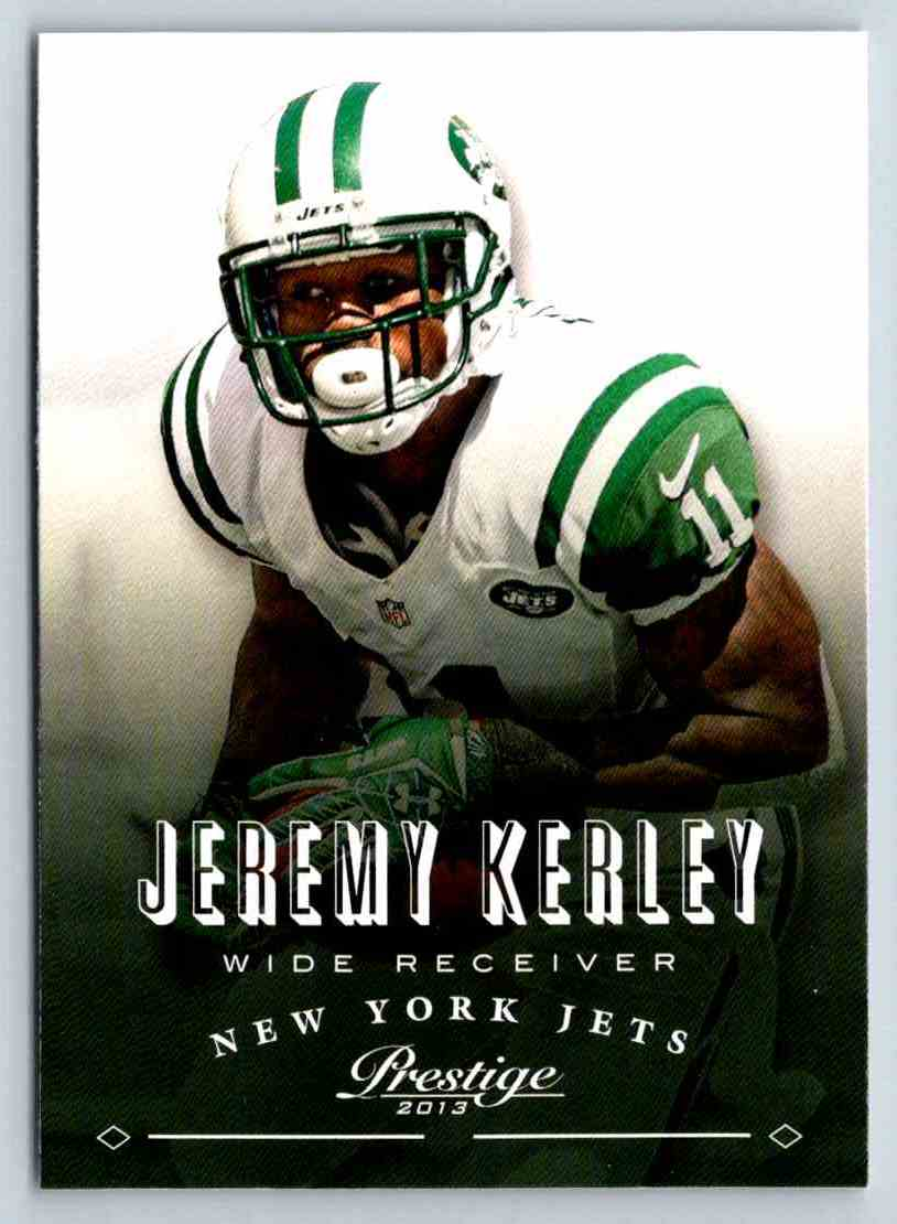 2013 Prestige Jeremy Kerley #136 card front image