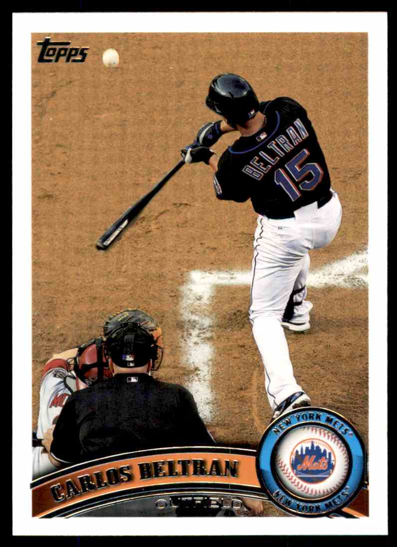 2011 Topps Carlos Beltran #515 card front image