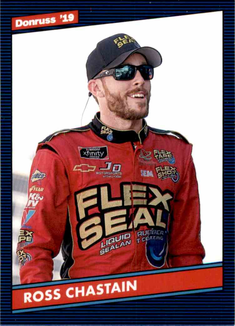 2019 Donruss Ross Chastain Retro #142 card front image