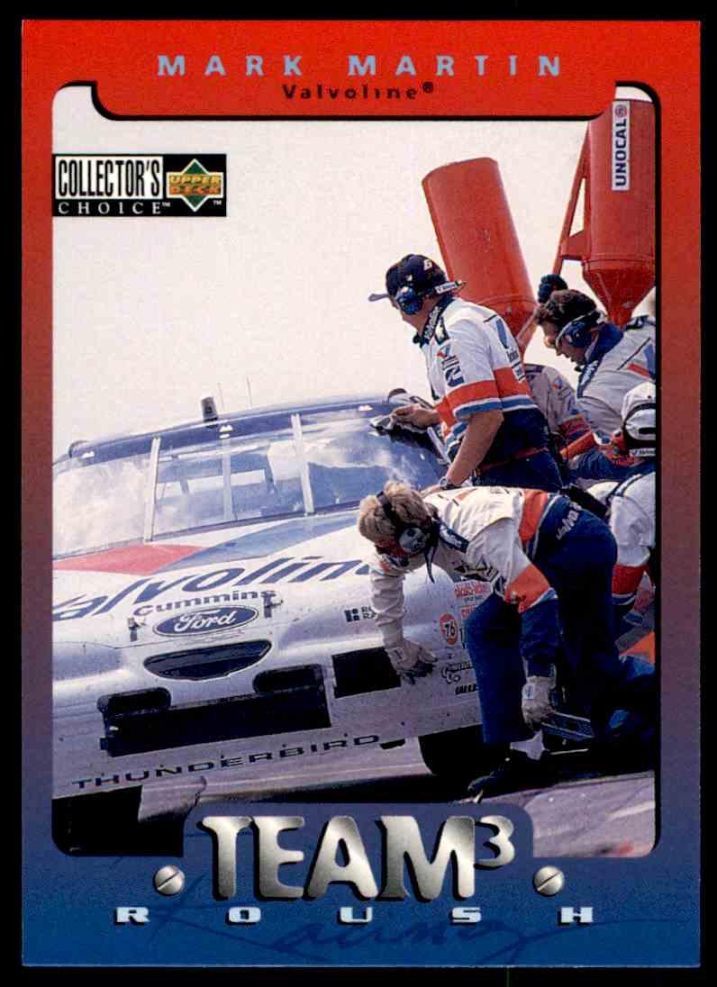 1996 Upper Deck Mark Martin #138 card front image