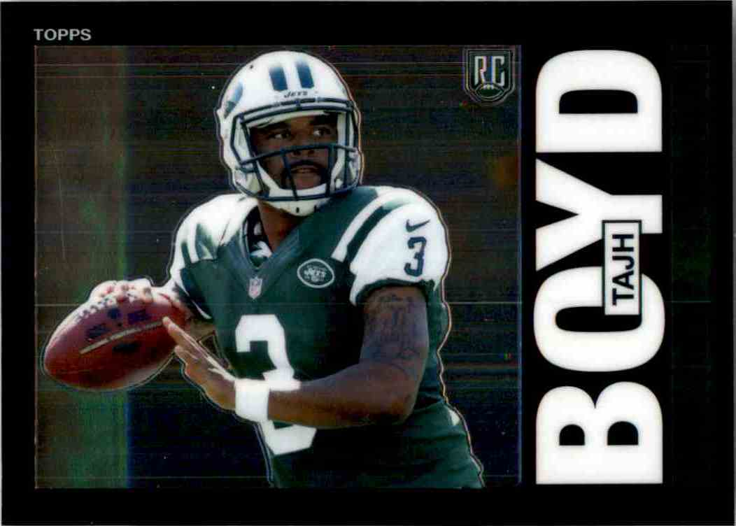 2014 Topps Chrome 1985 Tajh Boyd #17 card front image