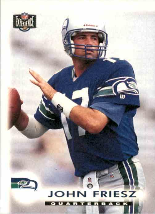 1997 Score Board NFL Experience John Friesz #85 card front image