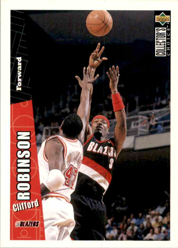 1996-97 Collector's Choice Clifford Robinson #317 card front image