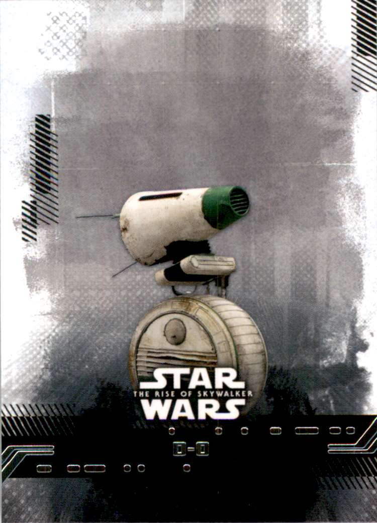 2019 Star Wars The Rise Of Skywalker Series One D-O #24 card front image