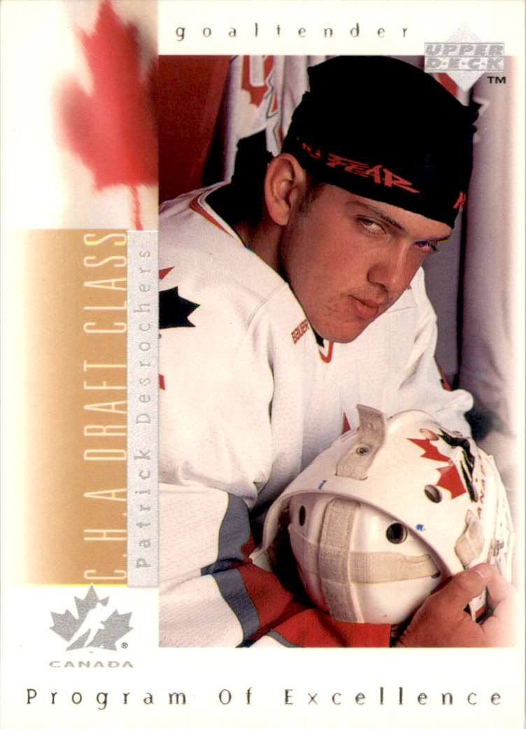 1996-97 Upper Deck Patrick Desrochers RC #371 card front image