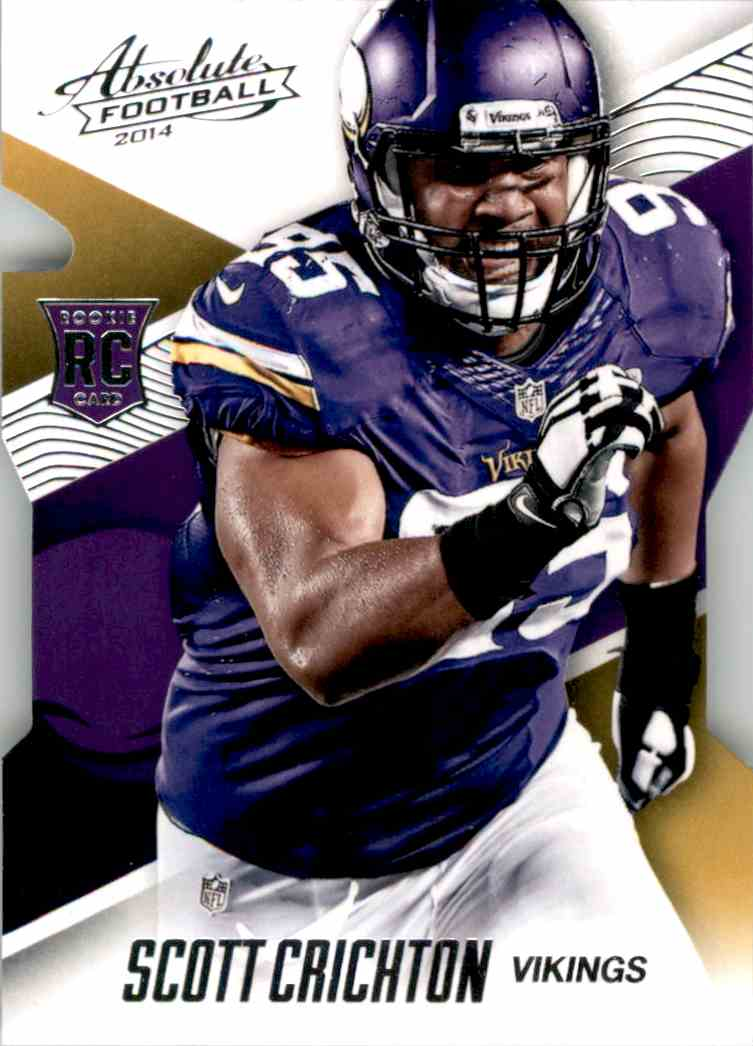 2014 Absolute Retail Scott Crichton RC #130 card front image
