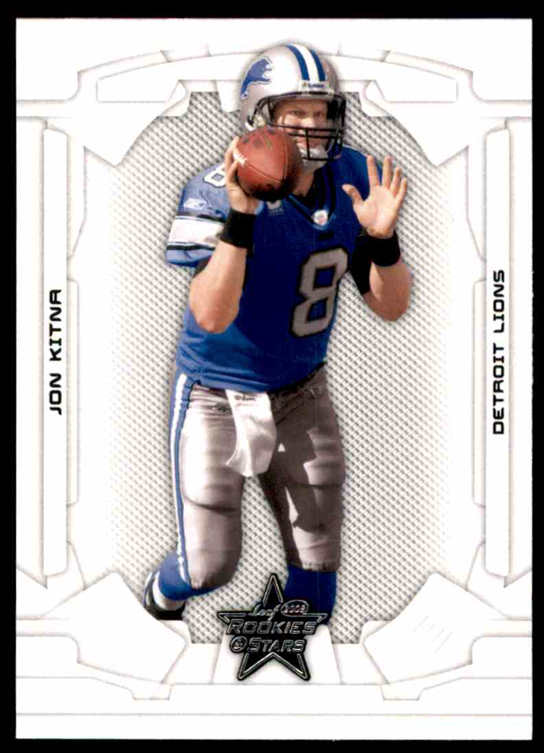 2008 Leaf Rookies And Stars Jon Kitna #31 card front image