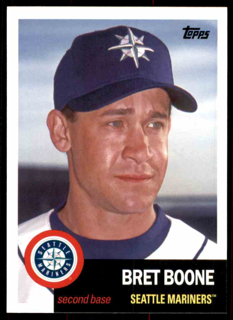2016 Topps Archives Bret Boone #4 card front image