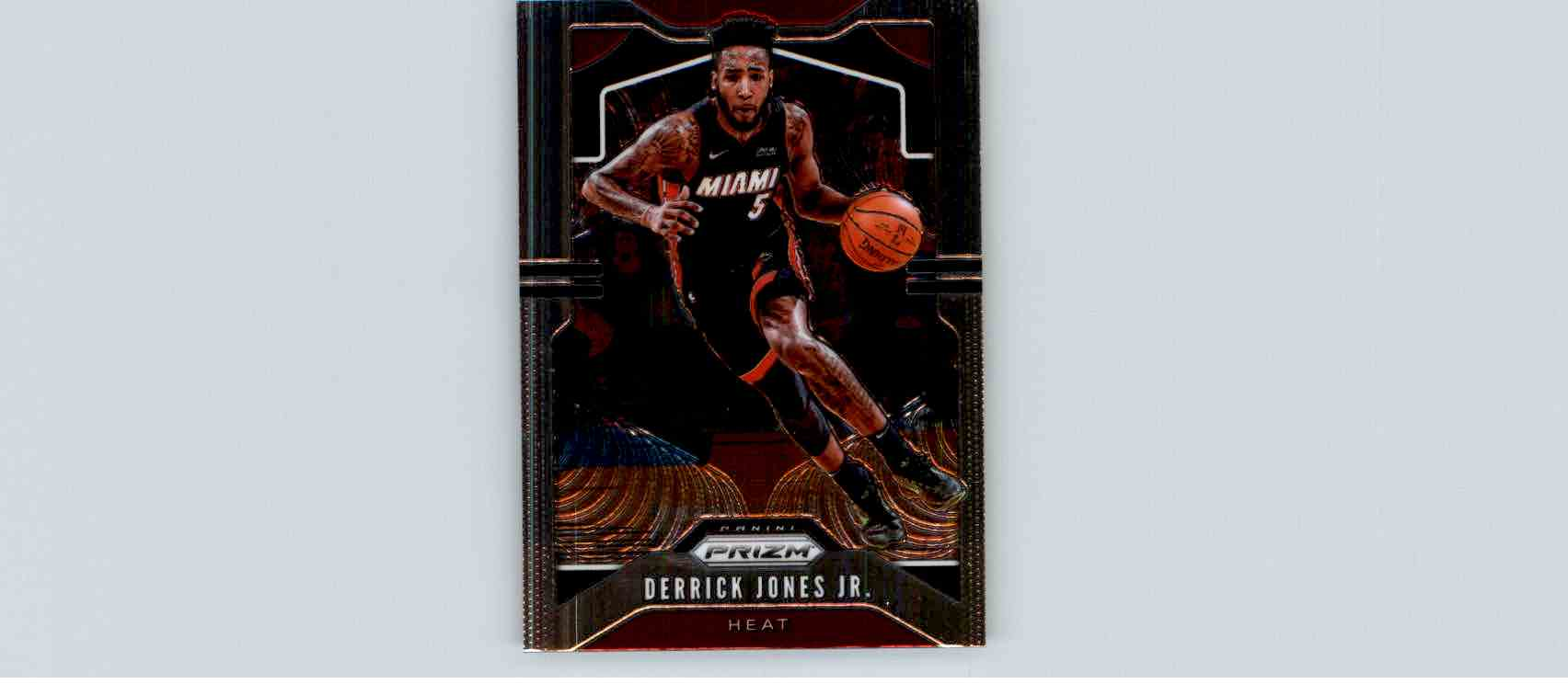2019-20 Panini Prizm Basketball Prizm Derrick Jones JR. #150 card front image