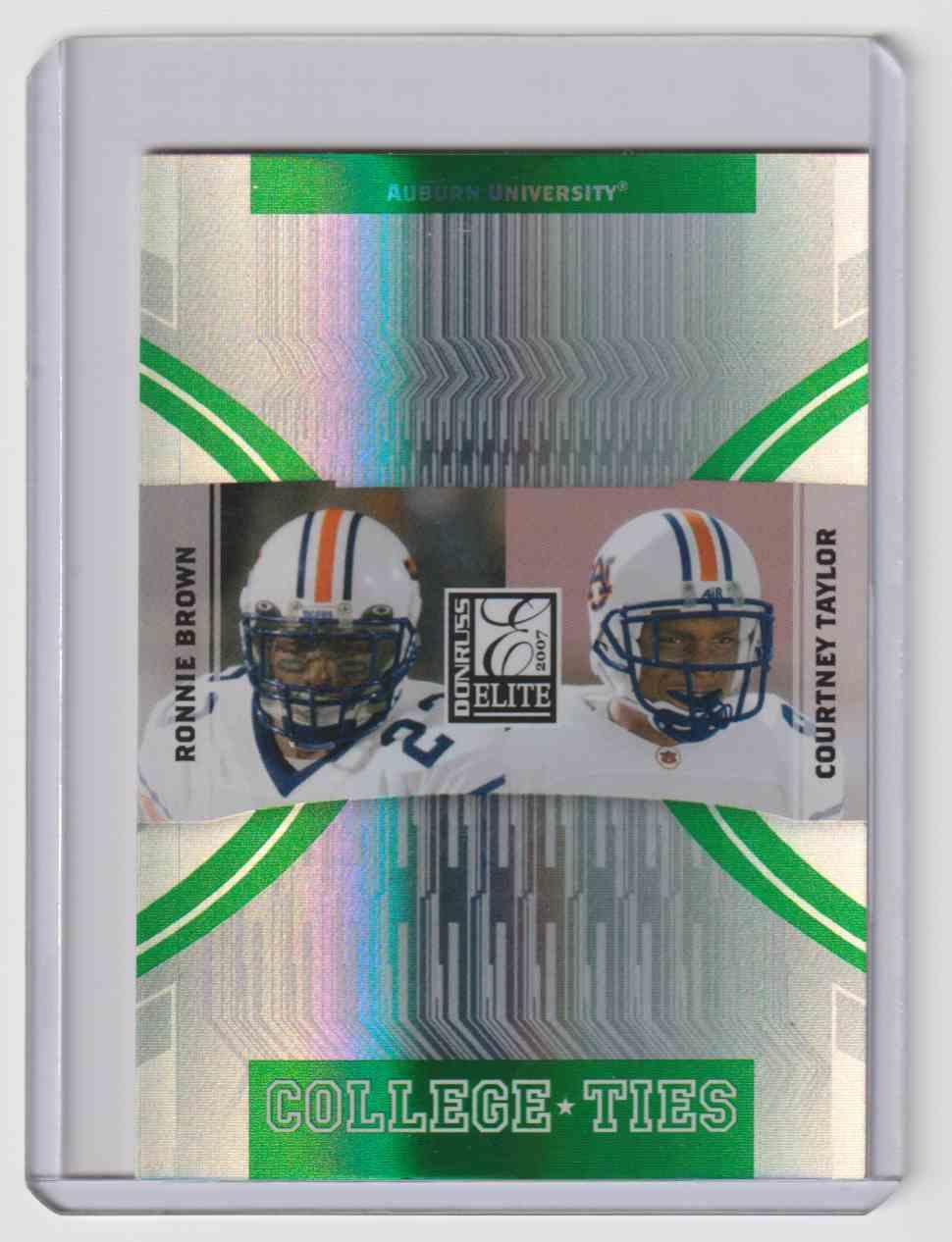 2007 Donruss Elite Brown/Taylor #CT15 card front image