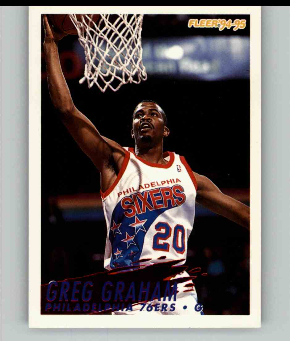 1994-95 Fleer Greg Graham #167 card front image