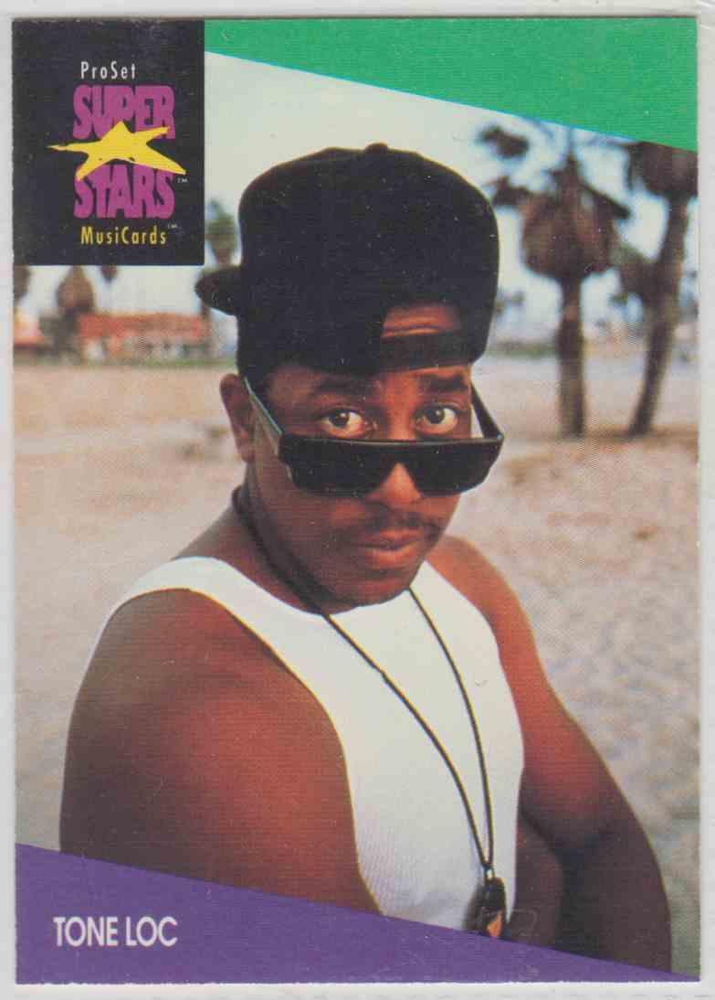 1991 Pro Set SuperStars MusiCards Tone Loc #138 card front image