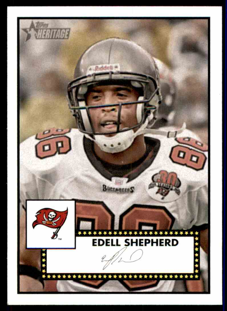 2006 Topps Heritage Edell Shepherd SP RC #345 card front image