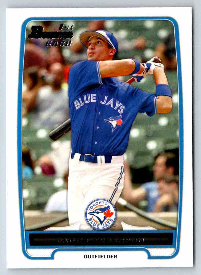 2012 Bowman Prospects Jacob Anderson #BP83 card front image
