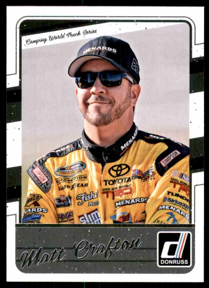 2017 Donruss Matt Crafton #84 card front image