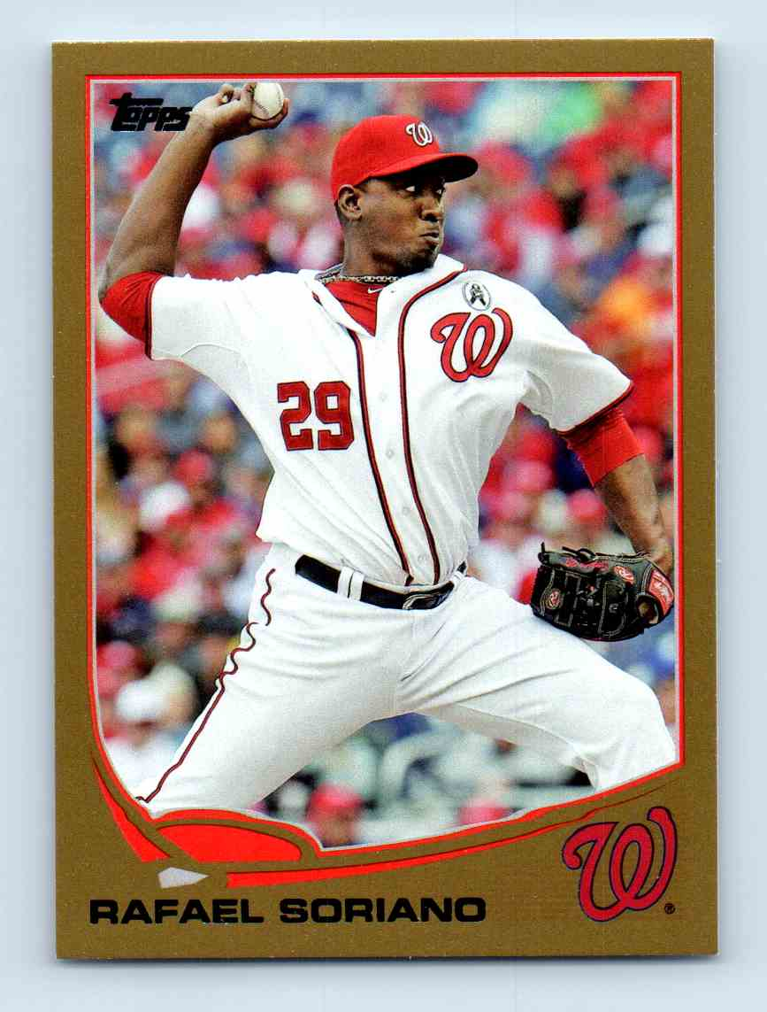 2013 Topps Update Gold Rafael Soriano #US61 card front image