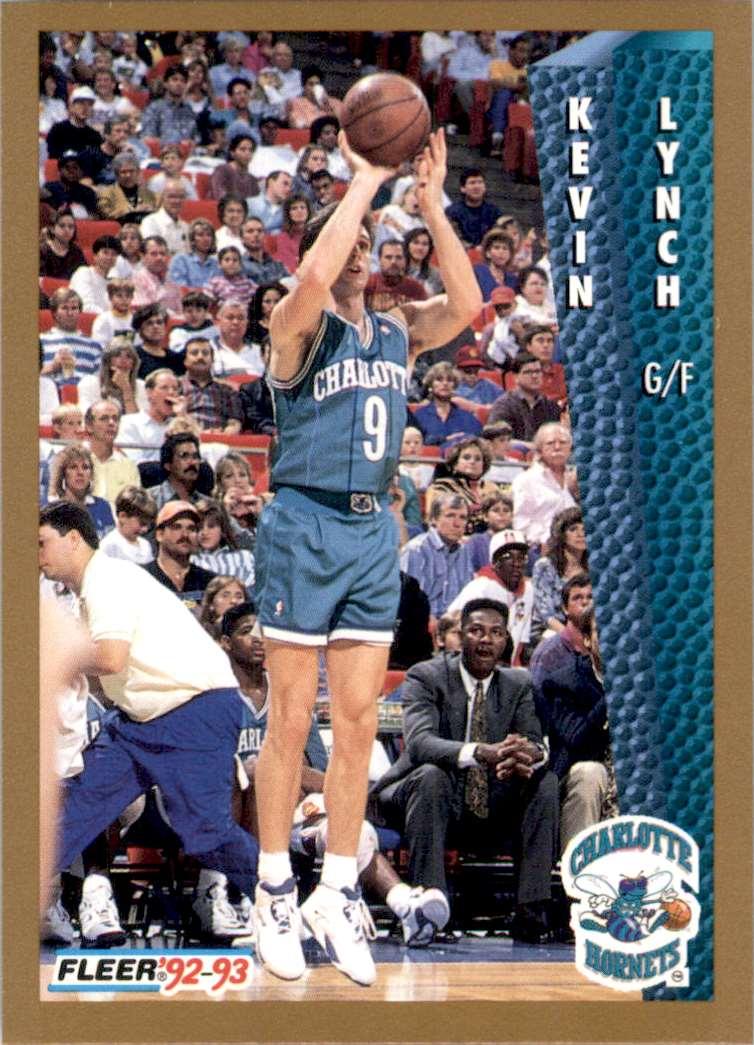 1992-93 Fleer Kevin Lynch #310 card front image