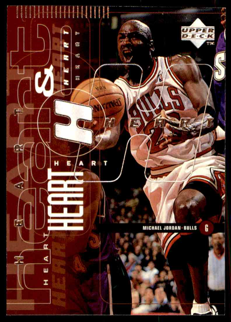 1998-99 Upper Deck Michael Jordan #26 card front image