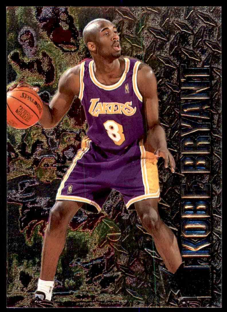 1996 97 Fleer Metal Rookie Kobe Bryant 181 On Kronozio