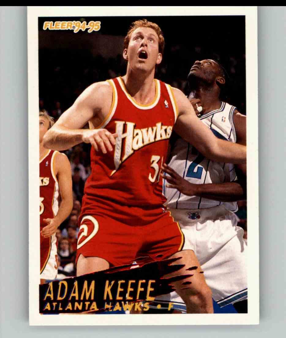 1994-95 Fleer Adam Keefe #5 card front image