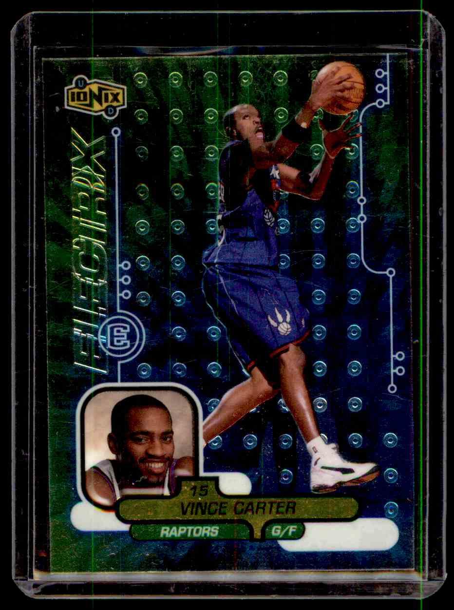 1998-99 Upper Deck Ionix Vince Carter #65 card front image